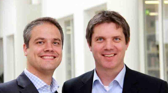 Dr. Axel Kölle (l.) und Dr. Christian Geßner (r.)