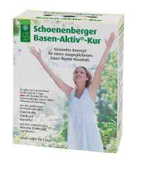 Die Basen-Aktiv-Kur bringt den Säure-Basen-Haushalt mit Pflanzensäften auf Vordermann. © Foto: Schoenenberger / Wirths PR