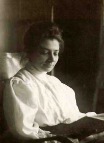 Margarete Bieber als Studentin in Bonn (1906). Foto: privat/Repro M. Recke