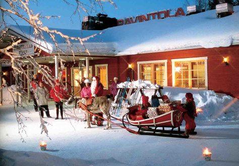Finnland. Weihnachtsmann © Dertour