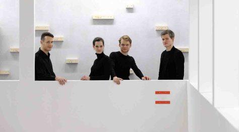 Das Notos Quartett eröffnet die neue Saison der Ahauser Schlosskonzerte. Foto: Kreis Borken