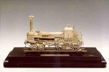 "Modell der Lokomotive ""Drache"""