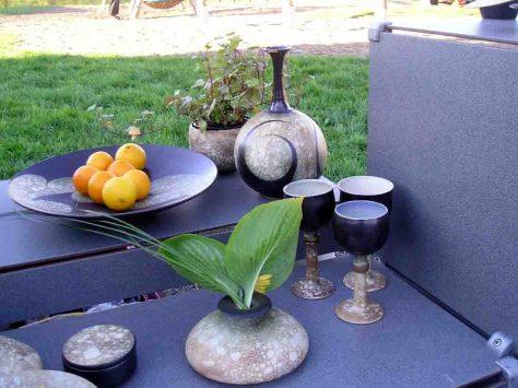 Vasen, Schalen, Dosen - aus Ton lassen sich die verschiedensten Objekte herstellen. Foto: LWL