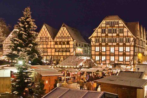 Weihnachtsmarkt in Soest © Wirtschaft & Marketing Soest