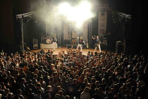 Die Show- und Partyband Royal Flash sang live im Congress Saal. Foto: © Messe und Congress Centrum Halle Münsterland