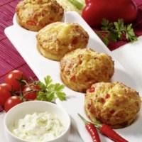 Pikante Vollkorn-Muffins (für Diabetiker)