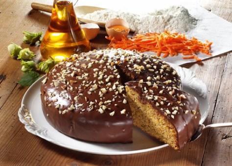 Schoko-Möhrenkuchen Foto: Wirths PR