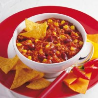 Vegetarisches Chili con carne (cholesterinarm)