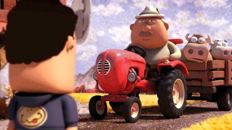 """Filmstill aus dem Animationsfilm """"Der Notfall"""" (2012, Regie: Stefan Müller) Foto: Filmstill/Stefan Müller"""