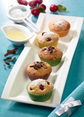 Fruchtige Muffins - Leckere Rezepte Foto: Wirths PR