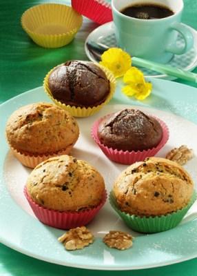 Nuss-Mandel-Muffins Foto: Wirths PR