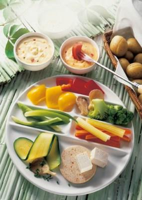 Vegetarisches Fondue Foto: Wirths PR