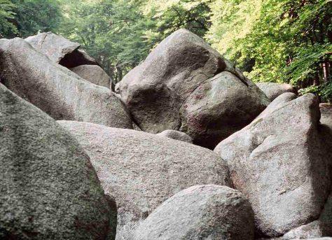 Felsenmeer im Odenwald Foto: hr