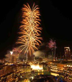 Downtown Dubai New Year's Eve Gala 2014.   © PRNewsFoto/Emaar Properties
