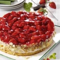 Laktosefreie Erdbeer-Quark-Torte (laktosefrei)