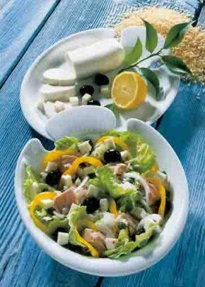 Griechische Rezepte: Thunfischsalat Foto: Wirths PR
