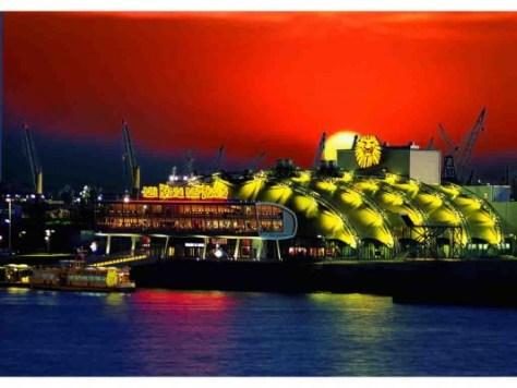 Stage Theater im Hafen Hamburg © Foto: Stage Entertainment