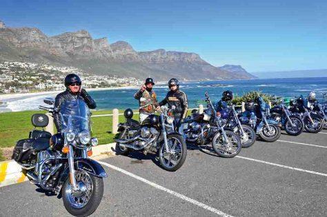 """""""On the Road – Mit der Harley ums Kap"""" © Meier´s Weltreisen"""
