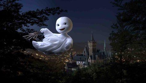"""Erfolgreichster Film der SchulKinoWochen NRW 2014: """"Das kleine Gespenst"""" Foto: Universum Film"""