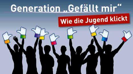 Dem Reiz der sozialen Netzwerke für Jugendliche sind hr-iNFO und der Lehrstuhl für Wirtschaftsinformatik der TU Darmstadt auf der Spur. Foto: hr/Kathrin Duckert