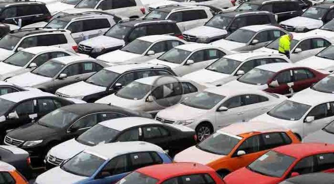 Pkw-Absatz steigt – Europas Automarkt kommt langsam in Gang