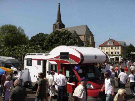 Niederrheinische Reisemobiltae Foto: Niederrhein Tourismus GmbH
