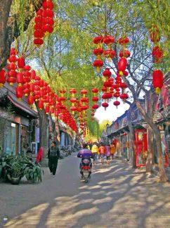 Asien, China, Beijing, Altstadtgasse © Meier´s Weltreisen