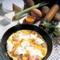 Kartofffelgerichte: Bauernpfanne mit Ziegenkäse