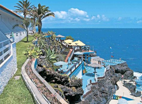 Madeira.Canico de Baixo.Hotel Roca Mar. Foto: DER Touristik