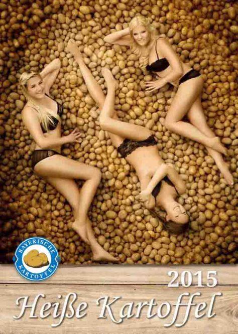 """Die """"Heiße Kartoffel 2015"""" präsentiert sich frisch und sexy. © Karin Heidmeier Fotostudio"""