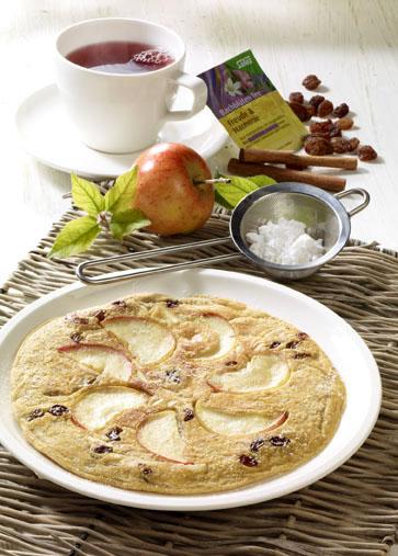 Apfel-Pfannkuchen Foto: Salus/Wirths PR