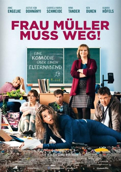 FRAU MÜLLER MUSS WEG / Plakat. Foto: Constantin Film Verleih