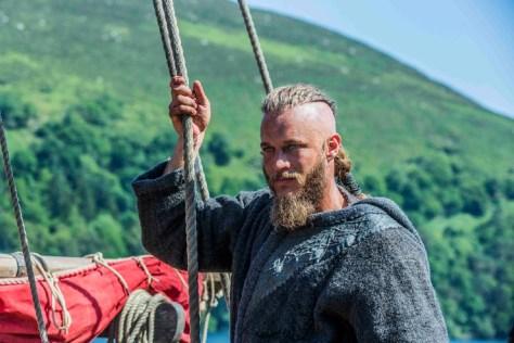Im Bild: Ragnar (Travis Fimmel) will bald wieder nach Westen aufbrechen. Die wilden Männer sind zurück. Foto: ProSieben/Television GmbH