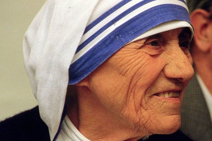 Mother Teresa was declared a saint on September 4, 2016. (Photo via Wikimedia Commons)