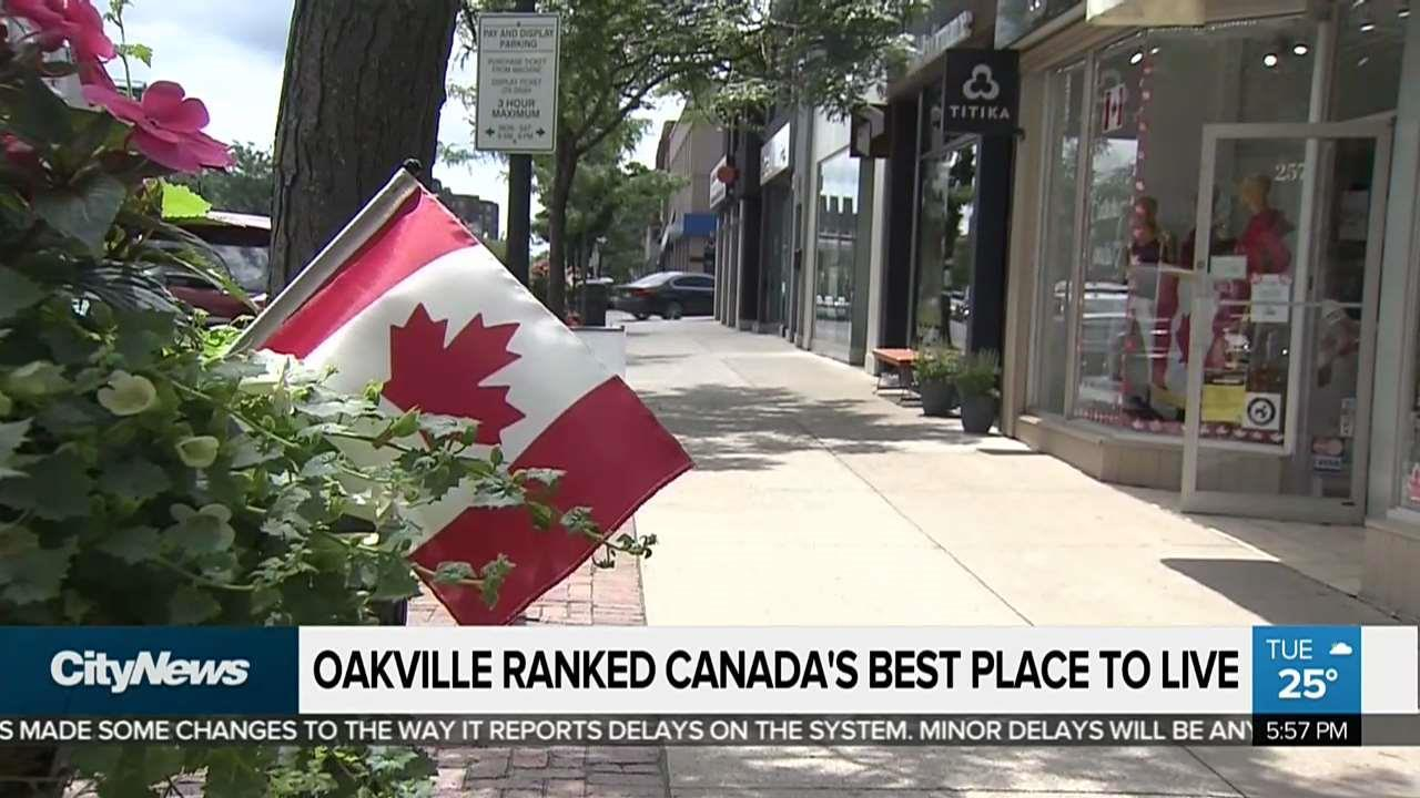 Help Me Find A Place To Live Oakville Named Canada S Best Place To Live