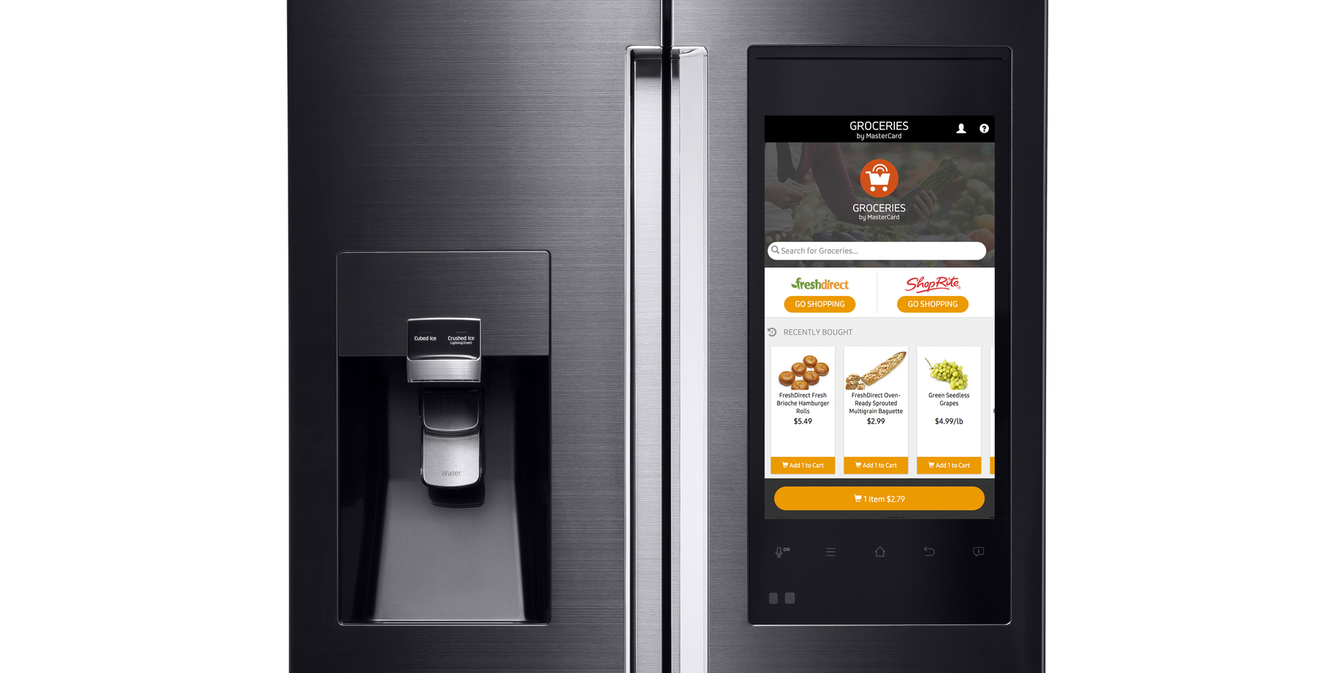 Smart Kühlschrank Mastercard Samsung Make Everyday Shopping Easier In Tomorrow S
