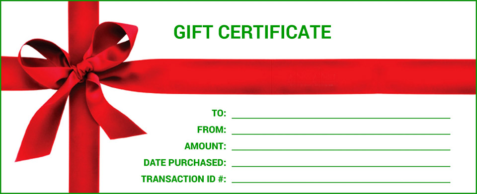 Gift Certificates! New Stage Theatre
