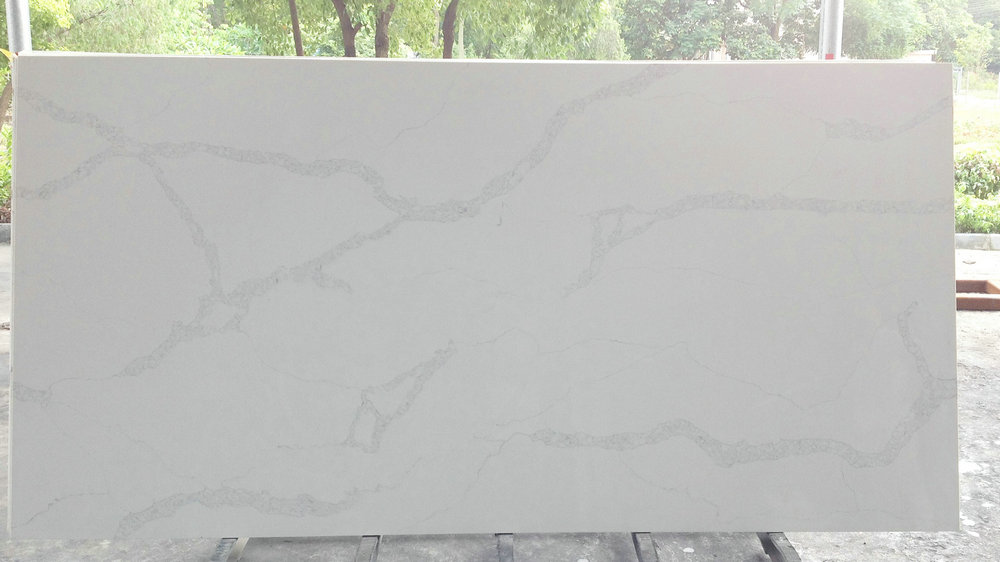 Kitchen Countertop Design Trends Benyeequartz Nq5063 Calacatta Nuvo Quartz Stone Colors