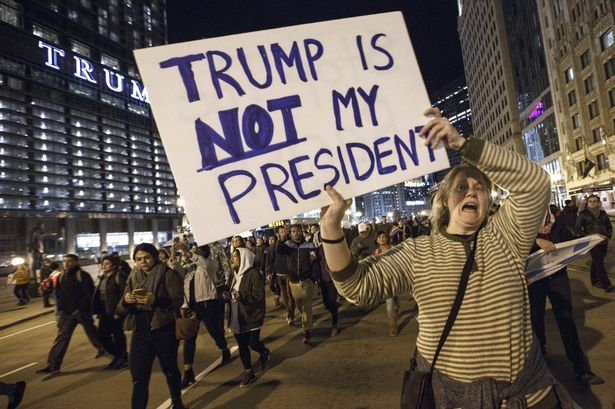 Protests-Erupt-Around-Country-Day-After-Donald-Trump-Elected-President