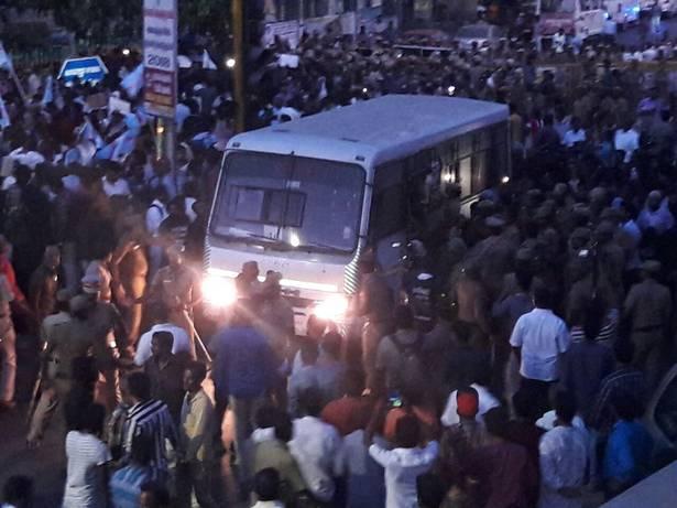 Chepauk protests IPL