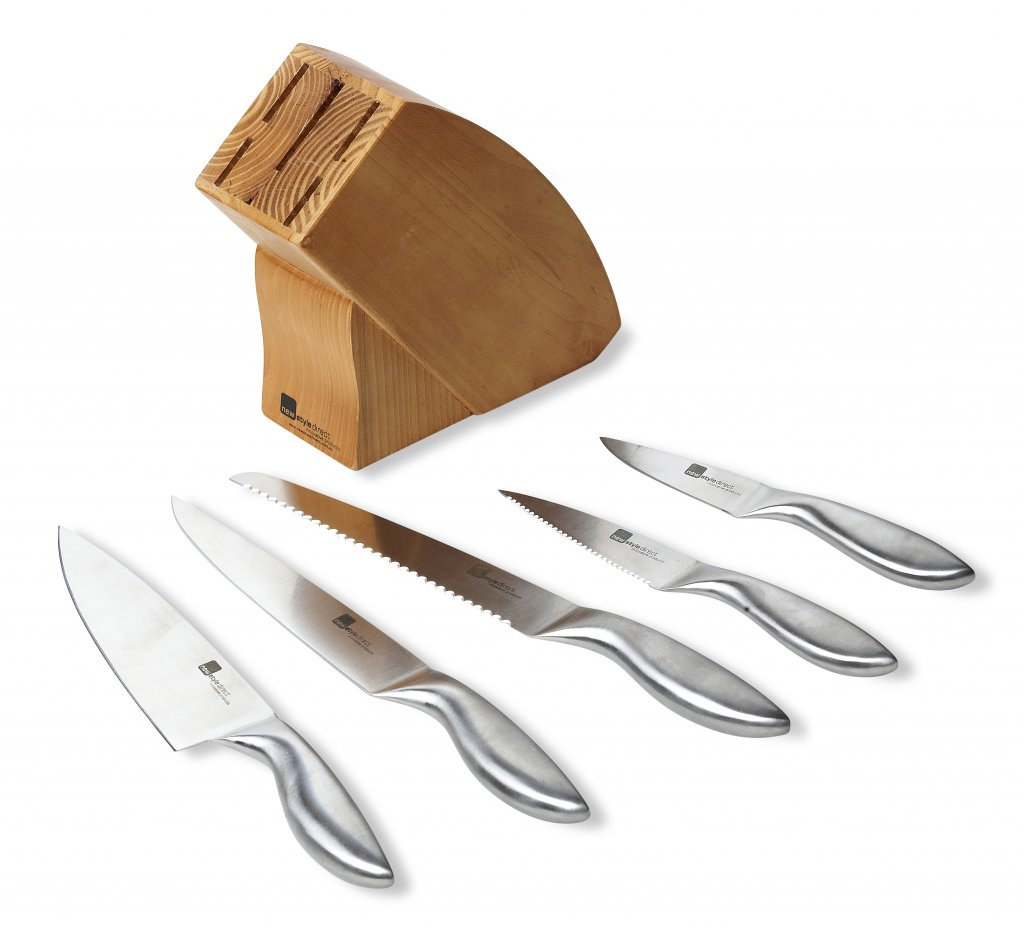 Cool Knife Block Sets Wooden Knife Block Set Newstyle Direct