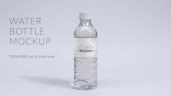 free water bottle sample