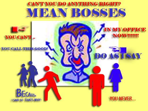 Bully Boss  - needs analysis