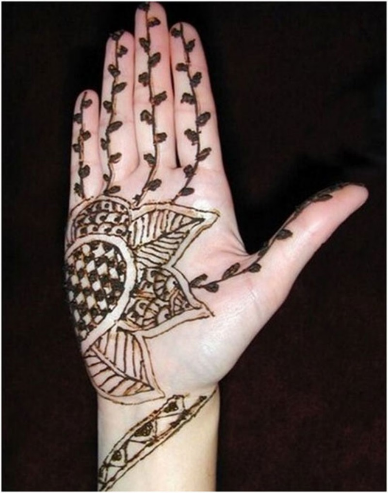 Cute Henna Wallpapers Simple Mehndi Designs Photos Picture Hd Wallpapers Hd Walls