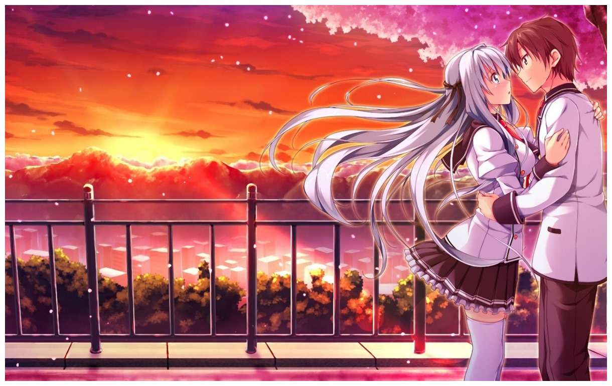 Romantic amp emotional couples anime full hd wallpapers hd