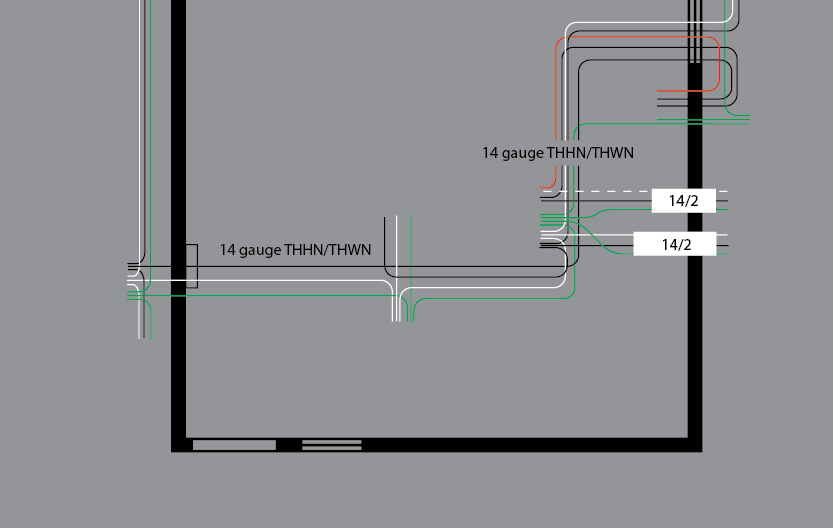 wiring diagrams for house