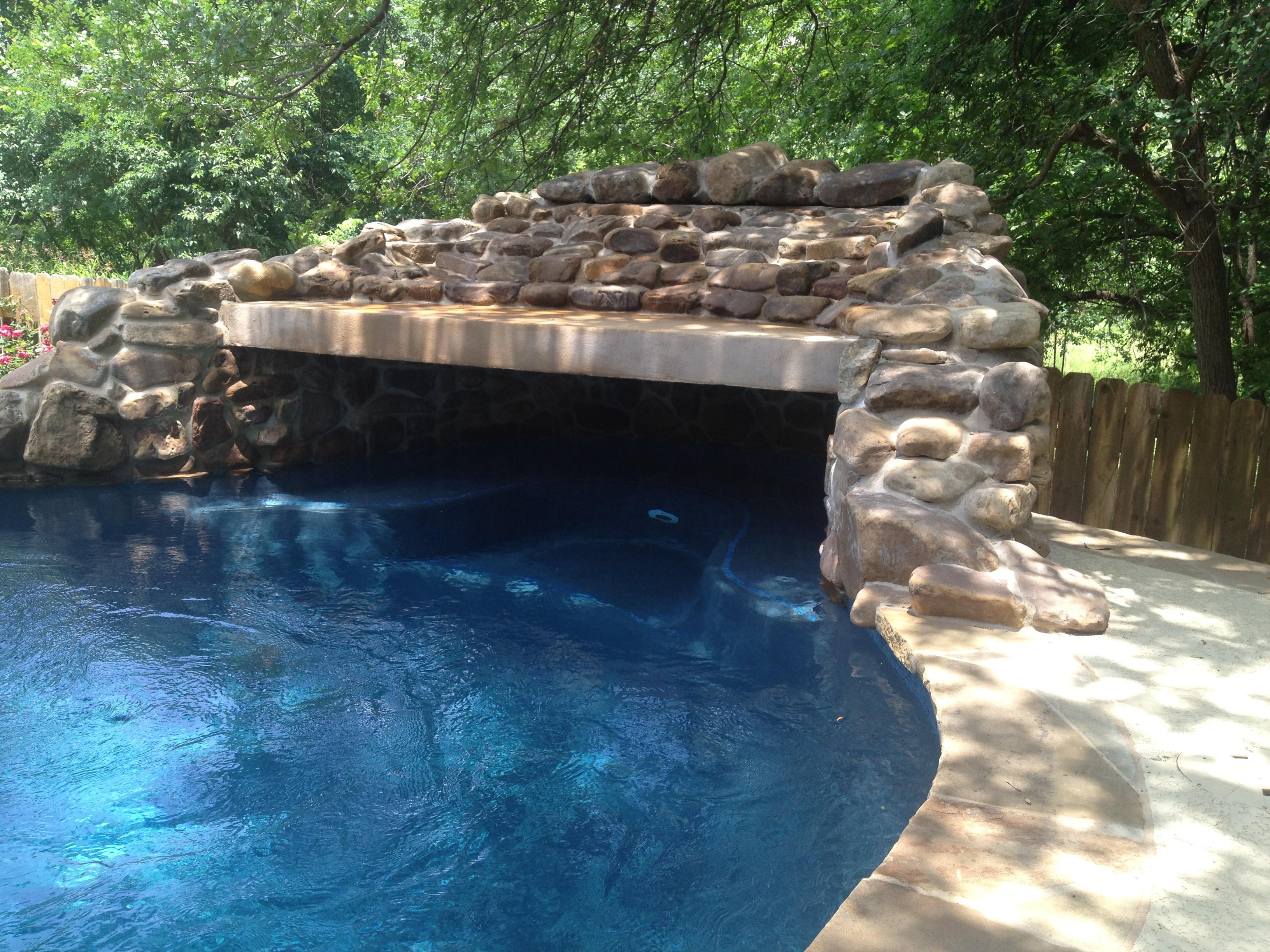 Home Builders Austin Custom Grotto Features | New Wave Pools Austin
