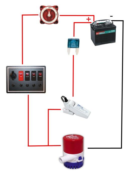 Wiring Diagram For Bilge Pump circuit diagram template