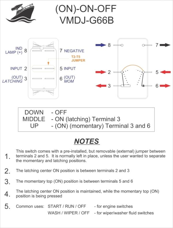Spdt Rocker Switch Wiring Diagram - 5aaxoowklsmestajtarainfo \u2022