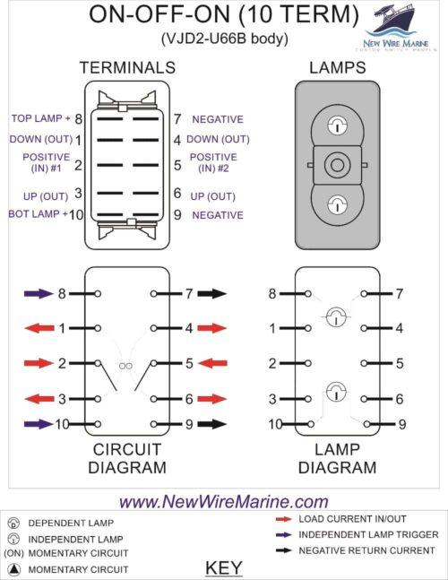 dpdt wiring diagram contura